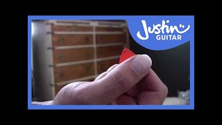 Picks, How To Choose One And Hold It (Guitar Lesson BC-107) Guitar For Beginners, Getting Started