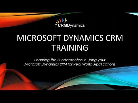 Microsoft Dynamics CRM 2016 Back to Basics – The Fundamentals ...