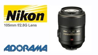Nikon 105mm f/2.8G Micro Nikkor Lens: Product Overview with Marcin Lewandowski