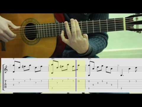 Hallelujah.Fingerstyle.Guitar.Tabs. Chords. Ноты,табы, аккорды. Аллилуйя на гитаре.