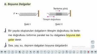 Eğitim Vadisi 10.Sınıf Fizik 10.Föy Dalgalar 1 Konu Anlatım Videoları