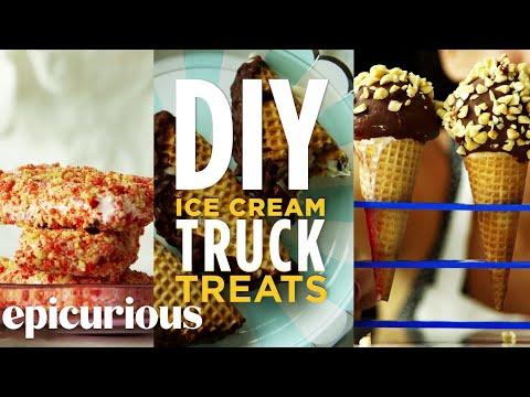 Video How to Make DIY Ice Cream Truck Treats