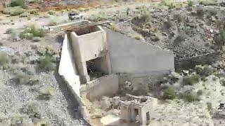 (AREA 51)Back roads, Rachel, Abandoned tunnels