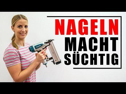 NAGELN 💖 MACHT SÜCHTIG! Warum? Das erkläre ich Dir in der Vostellung des Makita AF505N