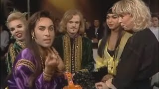 Army of Lovers vs. La Camilla - TV Fight - 1991 (Interview Translation / Subtitles)
