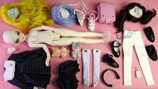 ★구체관절인형 바니바니 메이플A 개봉기/가발,옷입히기★Ball Jointed Doll Bunny Bunny Maple(A)taib Box Opening/BJD
