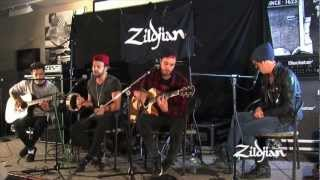 Cymbals - Young Guns perform Dearly Departed - Acoustic - Live at Zildjian