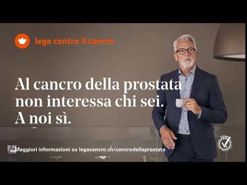 Girato nella regione della prostata