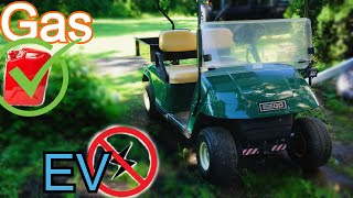 Gas VS Electric - Why Gas Golf Carts are better
