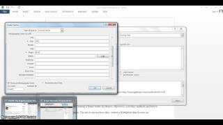 How to use the referencing tool in Microsoft Word 2013