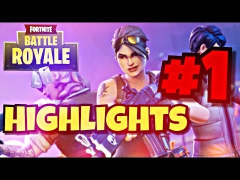 Fortnite Battle Royale Highlights #1
