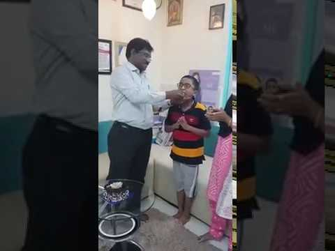 Birthday Celebration of Young Patient at Charming Smiles Dental Clinic