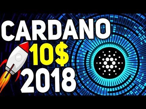 Стоимость Cardano (ADA) в 2018 достигнет цены в 10 $ !? Cardano 2018 ПРОГНОЗ (видео)