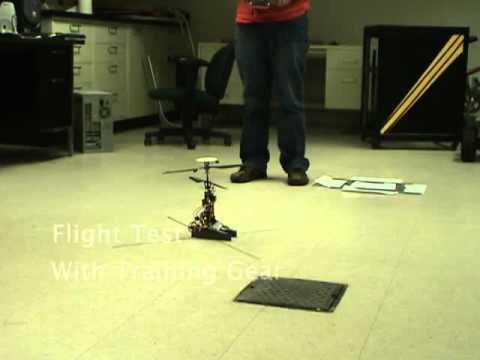 Yerde ve havada gidebilen robot