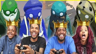 TIME TO CROWN A NEW RACE CHAMPION!! - Gang Beasts Gameplay