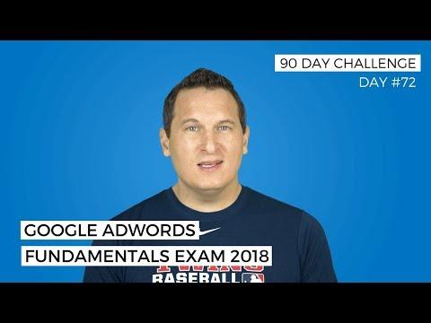 Google AdWords Fundamentals Exam 2018 - YouTube