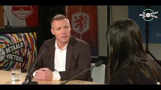 Maatschappelijk manager Michael Marinus bij nieuwspoort: 'Grote maatschappelijke impact BVO's'