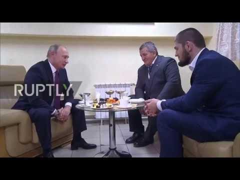 Russia: Putin congratulates Khabib on 'convincing' victory against McGregor