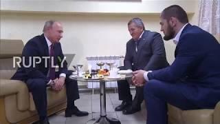 Russia:PutincongratulatesKhabibonconvincingvictoryagainstMcGregor