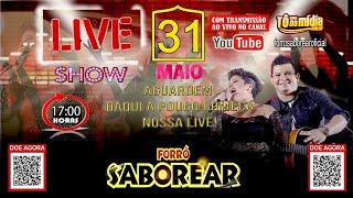 LIVE SHOW - FORRÓ SABOREAR - #FiqueEmCasa #LiveEmCasa | Tô Na Midia Music