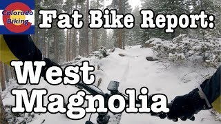Fat Bike Report | West Magnolia | First Ride of 2018/9 Season | First Film on GoPro Hero 7 Black