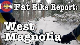 Fat Bike Report | West Magnolia | First Ride of 2018/9 Season | First Film on GoPro Hero 7 Black