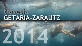 preview picture of video 'Travesía Getaria-Zarautz 2014 desde dentro'
