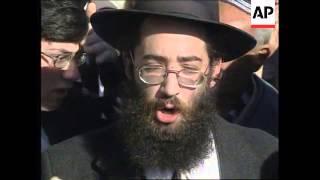 ISRAEL: JERUSALEM: ORTHODOX JEWS CLASH WITH POLICE