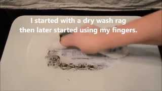 How To Transfer A Printed Image Onto A Piece Of Furniture Using VAX!