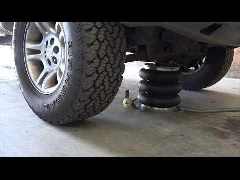 Winntec Y422002 pneumatický měchový zvedák pro osobní vozidla, nosnost 2000 kg