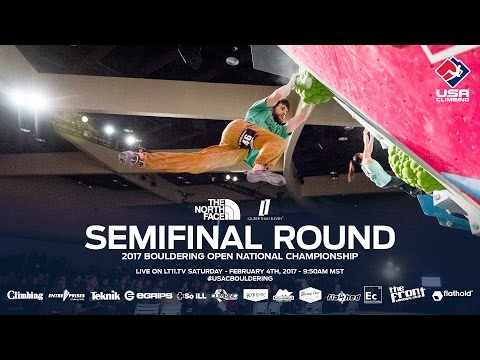 Semifinal Round - 2017 Bouldering Open National Championship