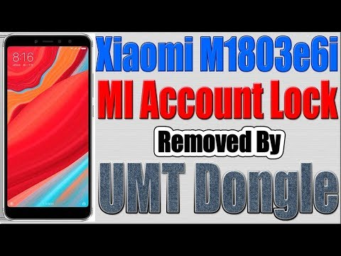 Redmi Y2 Mi Account Reset by UMT - смотреть онлайн на Hah Life
