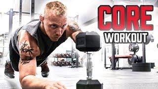 30 Minuten CORE Workout mit Kurzhanteln für Zuhause | Bauch Training mit Hanteln daheim