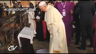 Santa Misa por los Mártires de Uganda en la zona del Santuario católico