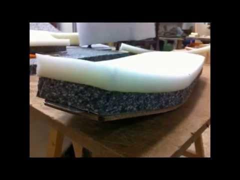 Como tapizar un asiento de moto en piel.(por Tapicerías Palma C.B)