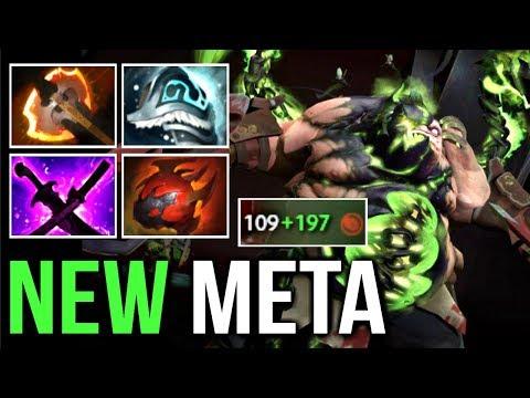 New Meta Battle Fury Pudge Arcana Gameplay Pro Dota 2