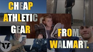 CHEAP ATHLETIC GEAR FROM WALMART | How To Build The Best Gym Outfits From Walmart On A Budget
