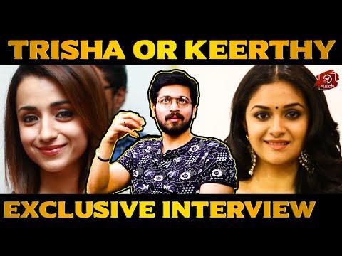 I Wanna Date With Trisha And Keerthy Suresh - Exclusive Interview With Harish Kalyan | #IRIR
