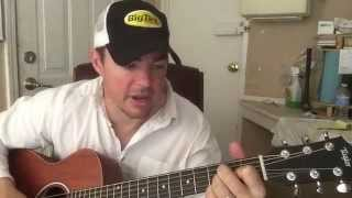 Today's Lonely Fool   Tracy Lawrence (Beginner Guitar Lesson)