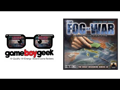 The Game Boy Geek Reviews The Fog of War