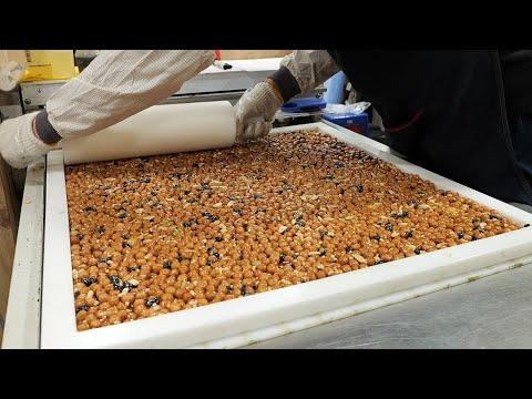 매일 직접 볶아서 만드는 수제 오란다 강정 / korean traditional nut snacks / korean street food