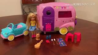 Barbie Chelsea camper play set