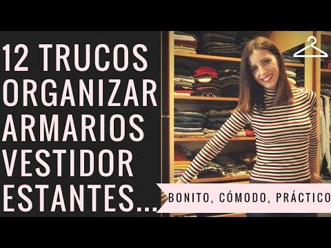 12 TRUCOS ORGANIZAR ARMARIO, VESTIDOR, ESTANTES... BONITO, PRÁCTICO, CÓMODO | @miuyyo