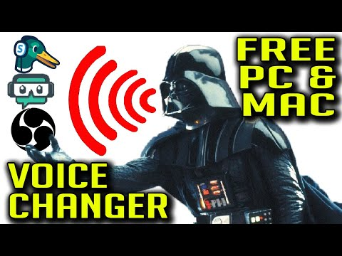 Voice Changer For your Live Streams! FREE for PC and Mac