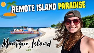 REMOTE ISLAND PARADISE (Mantigue Island, Camiguin) & Eating with the LOCALS | Philippines Travel