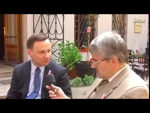 """Andrzej Duda o Unii Europejskiej: """"To jest baju baju dla frajerów. To jest dla naiwnych tylko"""""""