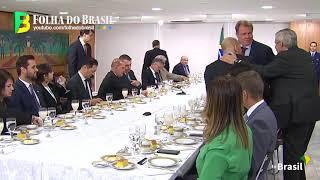 Vaza áudio de Bolsonaro criticando João Azevedo durante café da manhã com jornalistas.