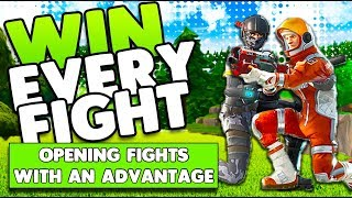 Opening Fights With An Advantage! | Win Every Fight! | Tips & Tricks | Fortnite Battle Royale