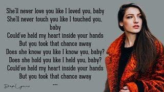She'll Never Love You - Catherine McGrath (Lyrics) - YouTube