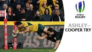Ashley-Cooper Scores Wonderful Try V All Blacks